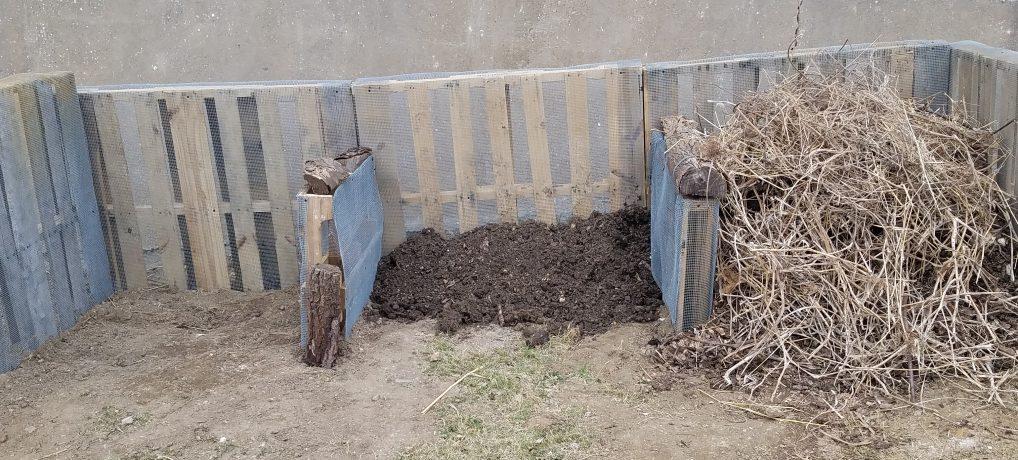 Building a Pallet Composter